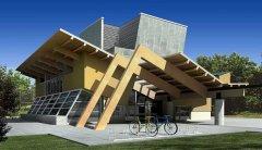3D影视动漫作品-建筑房子设计