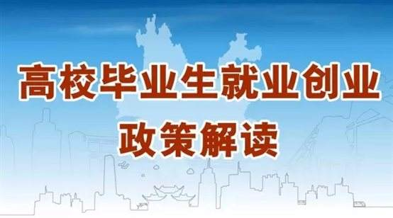 @江苏高校毕业生,你关心的就业创业政策来啦!